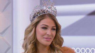 Migbelis Castellanos cuenta su historia de superación y narra cómo logró convertirse en Nuestra Belleza Latina 2018