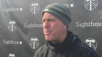 Giovanni Savarese y sus Timbers están listos para resolver la serie ante Seattle Sounders