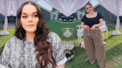 """Jenicka López, hija de Jenni Rivera, confiesa que la """"critican muy feo"""" por su cuerpo, pero eso la motiva más"""