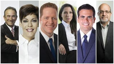 Univision Puerto Rico y WKAQ 580 presentan el último y decisivo debate de candidatos a la Gobernación