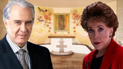 Las flores que Rogelio Guerra envió a María Rubio: el último gesto del galán a la gran villana en su funeral