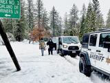 Decretan estado de emergencia para el condado de Madera debido a tormenta invernal