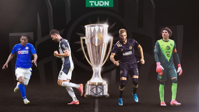 Así se jugarán las Semifinales de la Concacaf Champions League