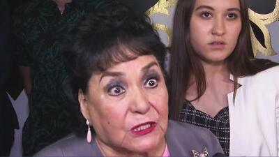 """""""Este tipo le cortó cartucho en su cara"""": aún con angustia, Carmen Salinas relata el asalto que sufrió su hija"""