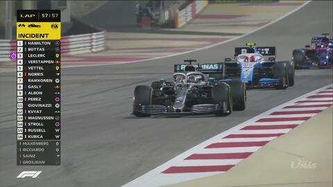 ¡Bandera de cuadros! Lewis Hamilton conquista su primer GP del año en Bahréin
