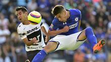 Felipe Mora abandonaría Cruz Azul y continuará con un club de la Ciudad de México