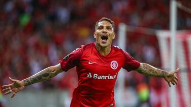 Doblete de Paolo Guerrero con el Inter en la Copa Libertadores