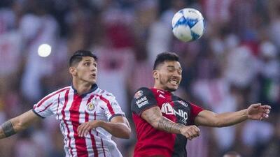 Estadísticas de los últimos cinco enfrentamientos entre Chivas y Atlas por Liga MX