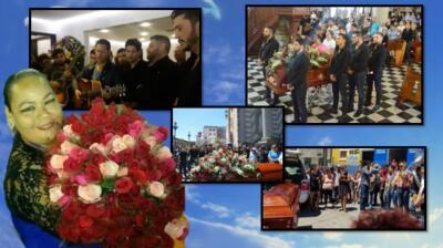 En fotos: la musical despedida a Marytoña, de parte de Banda Los Recoditos, El Recodo (y muchos más)