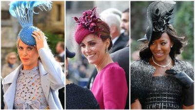En fotos: las famosas mejor vestidas (y la peor) en la boda de la princesa Eugenie