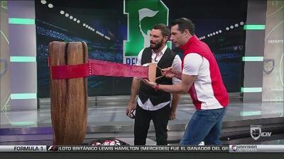 Martín Fuentes hizo 500 puntos jugando a la resortera