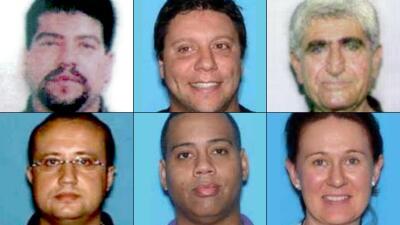 Estos son los veinte criminales más buscados por el FBI en Miami