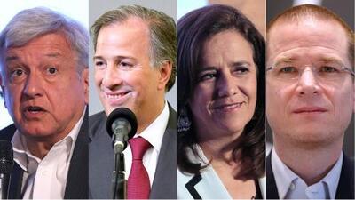 Ni chavismo, ni corrupción, ni PRI: la oferta de los candidatos a la presidencia para inaugurar la campaña en México
