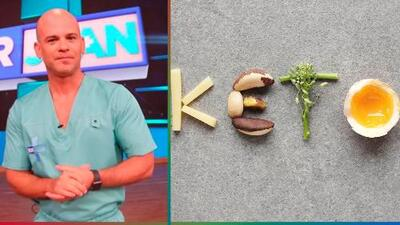 Riesgos de la dieta Keto, según el Dr. Juan Rivera