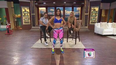 Maripily Rivera presenta su nueva línea de ropa deportiva