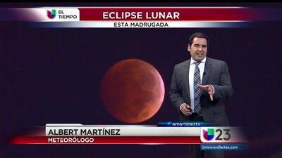 El tiempo: eclipse y frente frío
