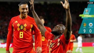 Bélgica cumple el trámite y clasifica a la Eurocopa 2020
