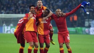 Schalke 04 2-3 Galatasaray: Galatasaray se clasificó con triunfo contra pronóstico