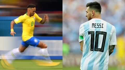 Brasil con Neymar y Argentina sin Messi: novedades de ambas selecciones para la fecha FIFA