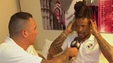 ¿Lo trasquilaron? Blas Pérez no se salvó del corte de cabello al interior del cuadro canalero