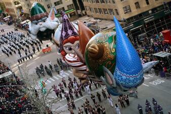 Las mejores 20 imágenes: así fue el gran desfile del Día de Acción de Gracias de Nueva York