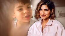 """Alejandra Espinoza deja claro que ella no le da """"porquerías"""" a su hijo Matteo"""
