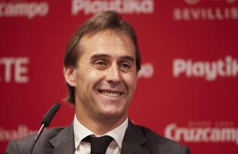 El Sevilla FC presenta a Julen Lopetegui como entrenador