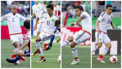 Las calificaciones del 'Tri' contra Paraguay en la prueba previo Copa Oro