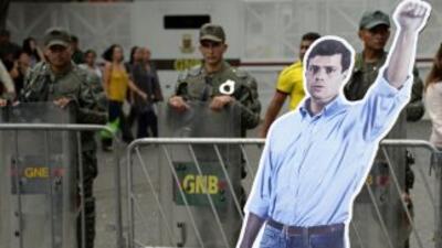 La justicia venezolana desecha apelación y deja tras las rejas a Leopoldo López