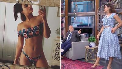 """Clarissa Molina cree que a El Gordo le molestó su foto en bikini porque él la considera """"la otra Mia"""""""