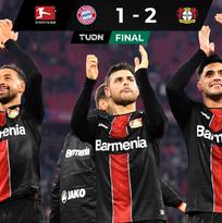 ¡Locura en Bundesliga! Cayó el Bayern ante el Leverkusen