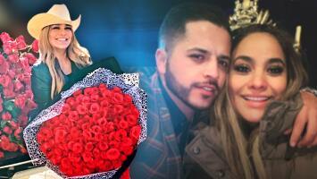 """""""¿Dónde vamos a poner tanta flor?"""": Mayeli Alonso no sabe qué hacer con las 5,500 rosas que le regaló Jesús Mendoza"""