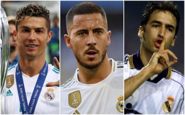 Los históricos número '7' del Real Madrid