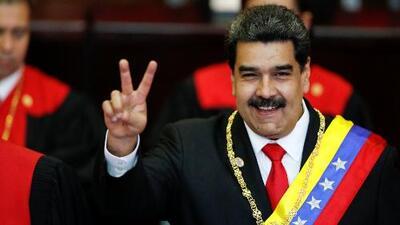 """Nicolás Maduro asume un segundo mandato como presidente de Venezuela con el rechazo de EEUU y otros países que lo consideran """"ilegítimo"""""""