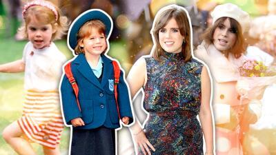En fotos: así ha cambiado la princesa Eugenie, la hija de Sarah Ferguson que se casa en octubre