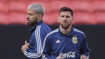 ¿Compañero o reemplazo de Messi? Joan Laporta ya contactó al Kun Agüero