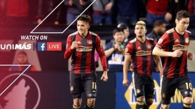 Atlanta United vs Chicago Fire, el primer partido de MLS que será transmitido por Facebook Live