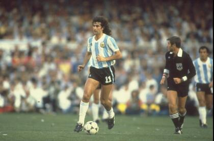 Mario Kempes (Argentina) - El autor del gol con el que su país se quedó con la Copa del Mundo del 78. Un 'Killer' del área gracias a su zurda.