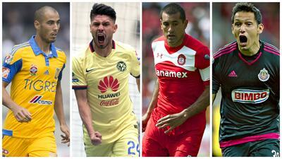 Jugadores que más podrían rendir en la Jornada 14 del Univision Deportes Fantasy