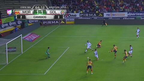 ¡Vaya error! Ferreira se perdió el gol de fea forma
