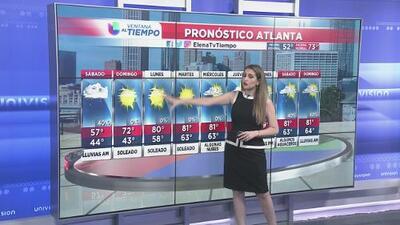 Luego de las tormentas, el clima seco regresa durante el fin de semana a Atlanta