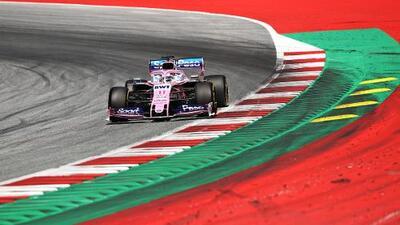 Sergio Pérez acepta que han habido más competidores por delante de Racing Point