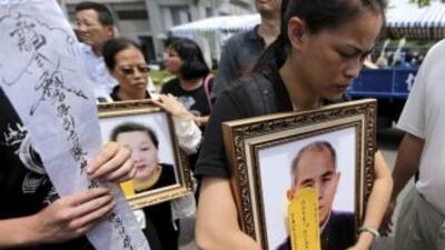 La mayoría de las 48 víctimas del vuelo de Taiwán han sido identificadas