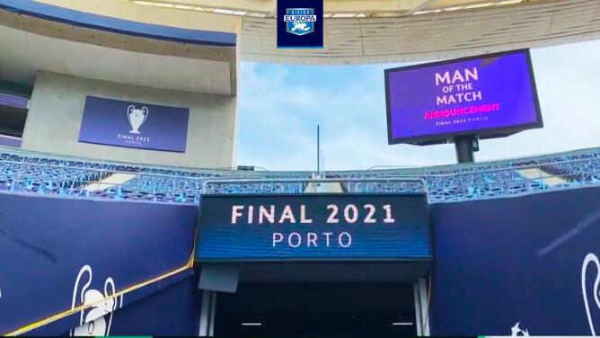 Así se prepara el Estadio do Dragao para recibir la final de Champions