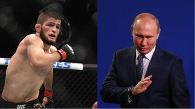 Vladimir Putin felicitó a Nurmagomedov por su triunfo ante McGregor