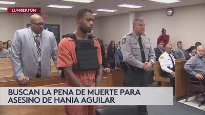 Pena de muerte para asesino de Hania Aguilar