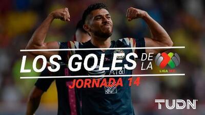 Revive los goles de la Jornada 14 del Apertura 2019