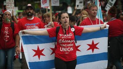 Si el Sindicato de Maestros y CPS no llegan a un acuerdo, la huelga impactaría a más de 300 mil estudiantes