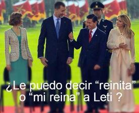 Top memes de la visita de los reyes de España en México