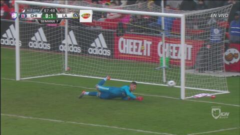 Gran parada del portero David Bingham salva al Galaxy de Zlatan